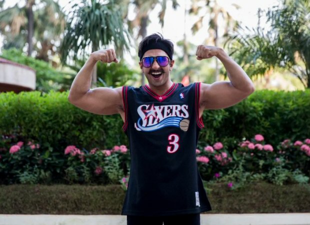 """""""I'm eating a lot and lifting heavy, heavy weights""""- Ranveer Singh on his jaw-dropping physical transformation in Simmba"""