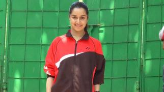 Shraddha Kapoor starts shooting for Saina Nehwal BIOPIC