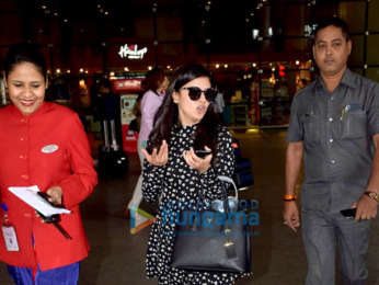 Abhishek Bachchan, Taapsee Pannu and Others snapped at the airport