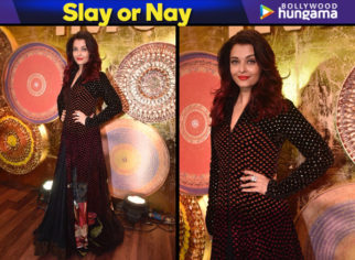 Slay or Nay - Aishwarya Rai Bachchan in Rohit Bal Couture for IMC Ladies event