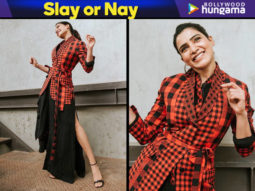 Slay or Nay - Samantha Ruth Prabhu in Mohammad Mazhar for U-Turn success bash (1)
