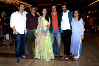 Star cast of 'Laila Majnu' spotted at PVR ECX