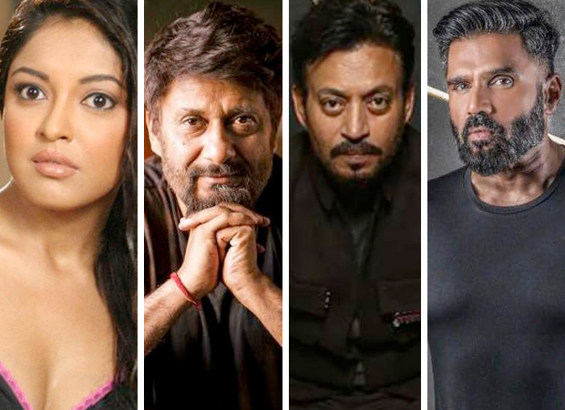 Tanushree Dutta accuses Vivek Agnihotri of harassment; reveals Irrfan Khan and Suniel Shetty scolded him for his behaviour