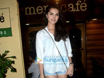 Tara Sutaria and Punit Malhotra spotted at Farmers' Cafe