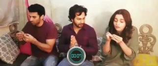 Varun Dhawan makes his Kalank co-stars Alia Bhatt and Aditya Roy Kapur take the Sui Dhaaga challenge