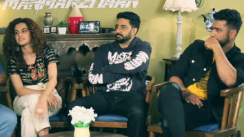 "Vicky Kaushal ""I think Rumi is a very SHAH RUKH KHAN fan"" Abhishek Taapsee Manmarziyaan"