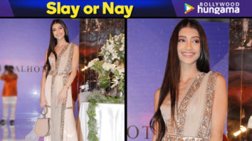 Slay or Nay - Alanna Panday in Manish Malhotra for the Festive Junction Show (Featured)