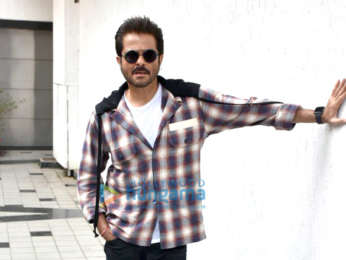 Anil Kapoor snapped on sets of No Filter with Neha Dhupia