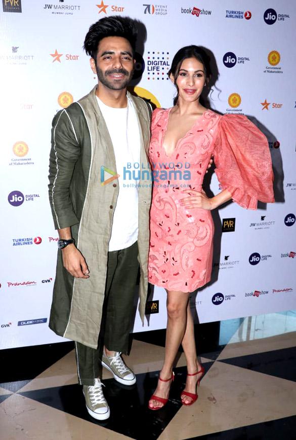Aparshakti Khurana and Amyra Dastur spotted at PVR Juhu attending the 20th Jio MAMI Film Festival 2018 (1)