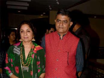 Ayushmann Khurrana, Sanya Malhotra snapped promoting 'Badhaai Ho'