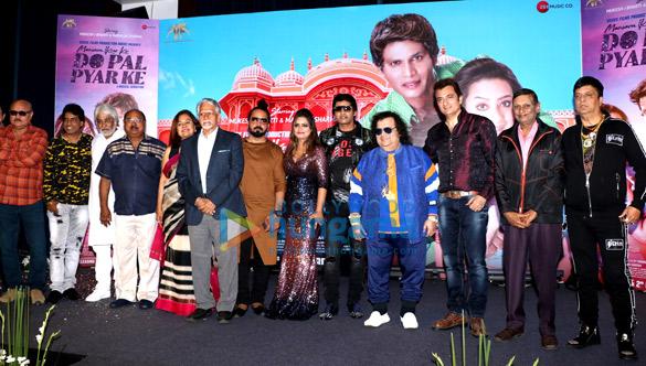 Bappi Lahiri graces the music launch of 'Mausam Ikrar Ke Do Pal Pyar Ke'