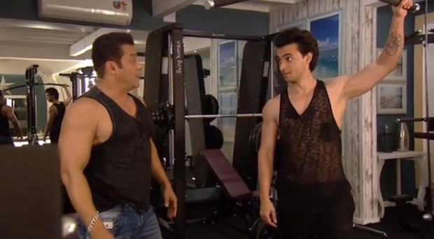 Bigg Boss 12 Salman Khan gives workout tips to brother-in-law Aayush Sharma