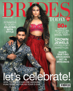 Sonakshi Sinha and Vicky Kaushal On The Cover Of Brides Today, Nov 2018