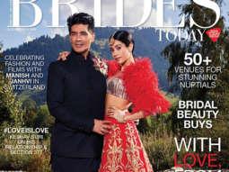 Janvi Kapoor, Manish Malhotra On The Cover Of Brides Today
