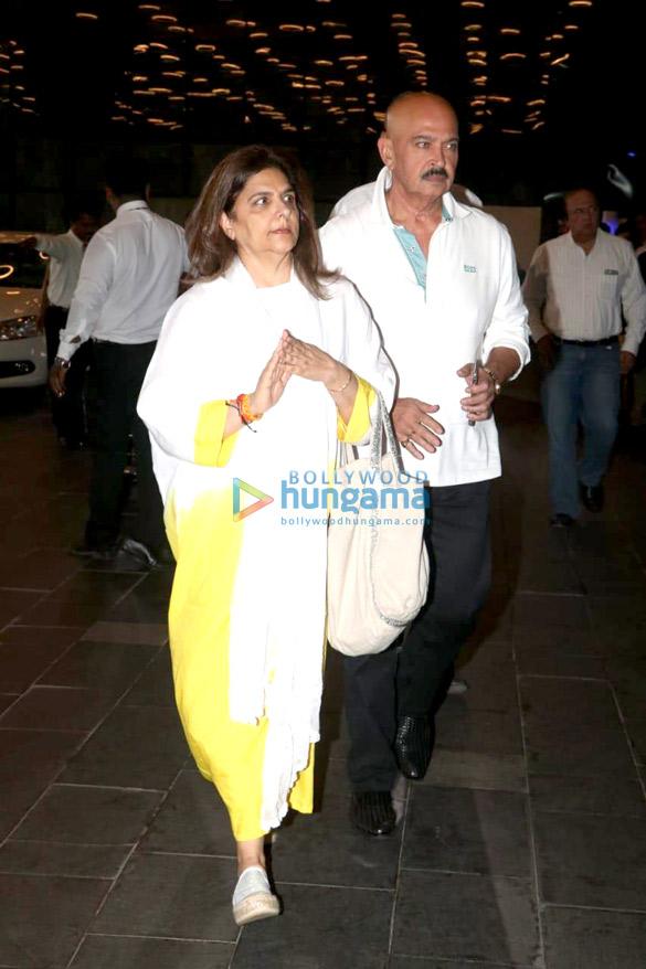 Celebs attend the prayer meet of late Krishna Raj Kapoor at Sahara Star hotel-01 (20)