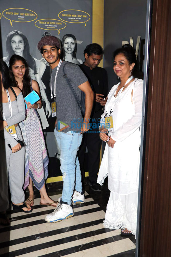 Celebs snapped attending the 20th Jio MAMI Film Festival 20184 (1)