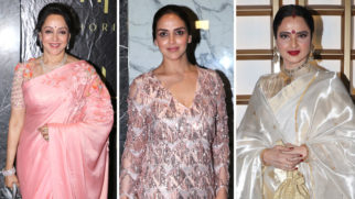 Check Out Top Celebs attend Hema Malini's birthday