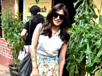 Chitrangda Singh spotted at Farmers' Cafe in Bandra