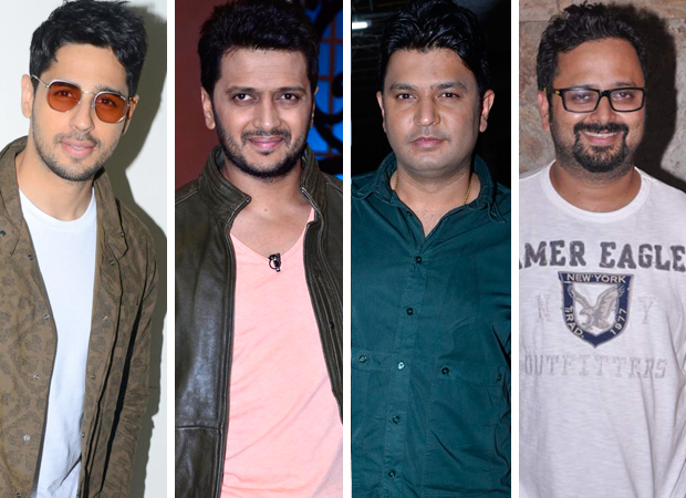 Ek Villian stars Sidharth Malhotra - Riteish Deshmukh commence work on Bhushan Kumar and Nikkhil Advani's next