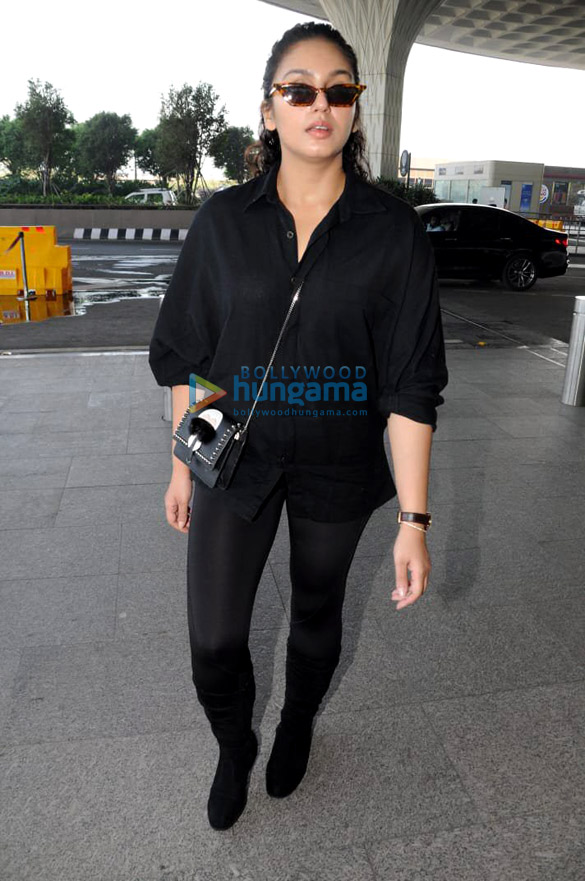 Huma Qureshi, Yuvika Chaudhary and others snapped at the airport