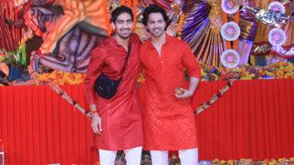 Varun Dhawan, Ayan Mukerji and others spotted at Durga Pooja Part 1