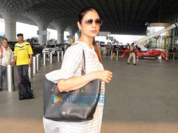 Kajol and Hansika Motwani and others snapped at the airport