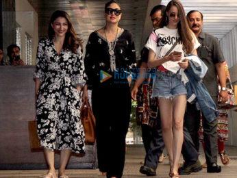 Kareena Kapoor Khan and Soha Ali Khan spotted at Hakkasan