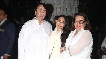 Late Krishna Raj Kapoor's Prayer meet Part 7