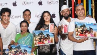 Launch-of-iPhone-XR-with-Asha-Bhosle-and-Zanai-Bhosle-@-iAzure