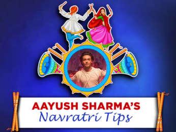 LoveYatri Star Aayush Sharma's Tips for this Navratri Season
