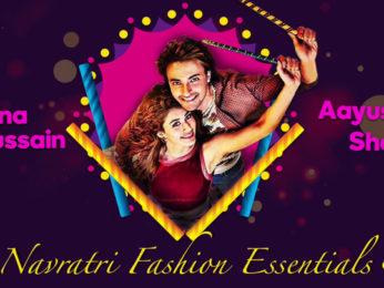 Loveyatri's Aayush Sharma, Warina Hussain talk about Navratri Fashion Essentials
