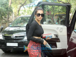 Malaika Arora snapped with her son in Bandra