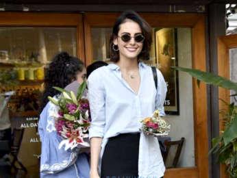 Mandana Karimi snapped at Sequel in Bandra