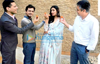 On The Sets Of The Movie Motichoor Chaknachoor