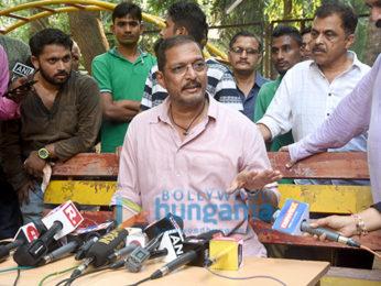 Nana Patekar addresses a press meet
