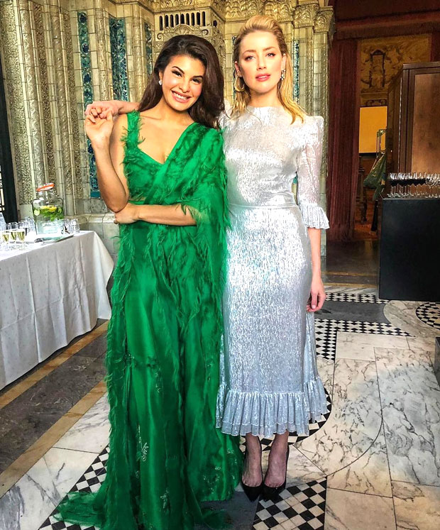 PICS: Jacqueline Fernandez meets AQUAMAN actress Amber Heard