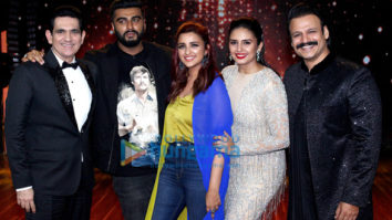 Parineeti Chopra and Arjun Kapoor snapped on sets of the show India's Best Dramebaaz