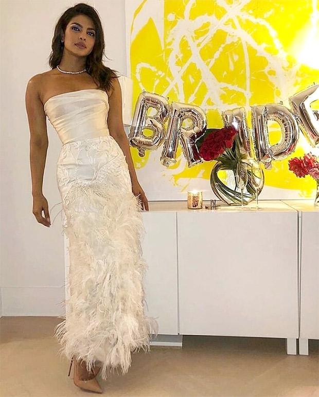 Priyanka Chopra in Marchesa for her bridal shower in NYC (3)