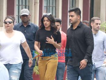 Priyanka Chopra snapped in Mumbai