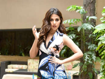 Rhea Chakraborty snapped promoting her film 'Jalebi'
