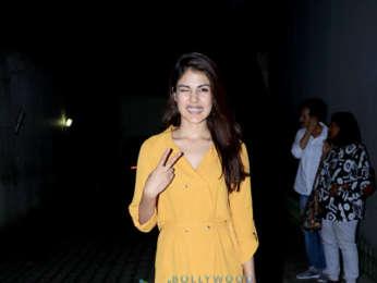 Rhea Chakraborty spotted at the Vishesh Films' office in Khar