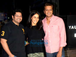 Riteish Deshmukh, Genelia Dsouza, Raina Sachiin Joshi and others snapped at BKC