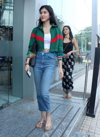 Shanaya Kapoor and Ananya Pandey snapped in Mumbai