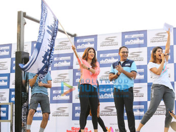 Walkathon Flag off by Shilpa Shetty,Sanya Malhotra & Rahul Bose