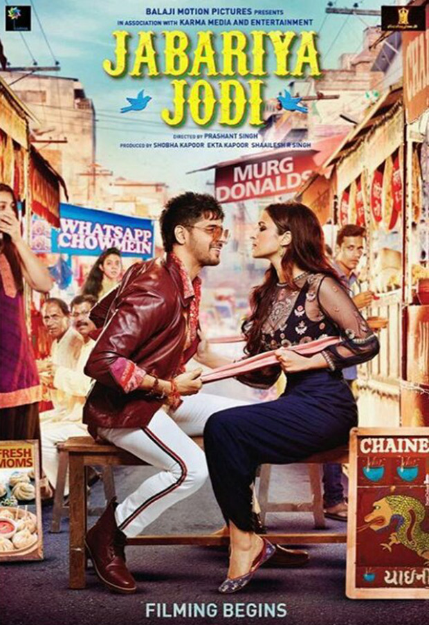 Sidharth Malhotra and Parineeti Chopra shoot in a 'Tabela' for Jabariya Jodi