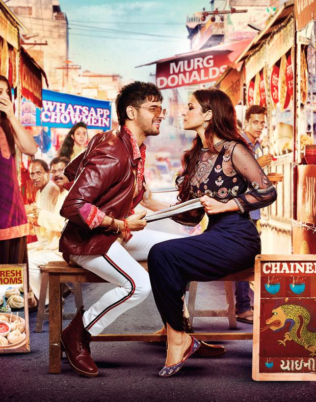 Sidharth Malhotra and Parineeti Chopra shoot in a 'Tabela' for Jabariya Jodi