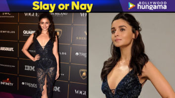 Slay or Nay - Alia Bhatt in Roberto Cavalli for Vogue Women of the Year Awards 2018 (Featured)