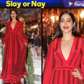 Slay or Nay -Janhvi Kapoor in Manish Malhotra for the Festive Junction Show (Featured)