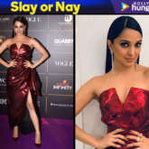 Slay or Nay - Kiara Advani in Nikhita Tandon for Vogue Women of the Year Awards 2018 (Featured)