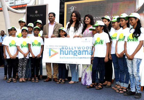Sonakshi Sinha snapped at Smile Foundation event